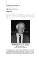 Jim Hagan: A Memoir