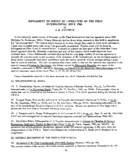 Supplement to Survey of Literature on the First International Since 1945