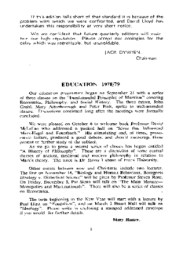 EDUCATION 1978/79