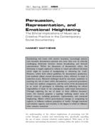 Persuasion, Representation, and Emotional Heightening