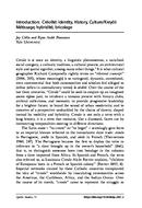 Introduction: Créolité: Identity, History, Culture/Kreyòl: Métissage, hybridité, bricolage