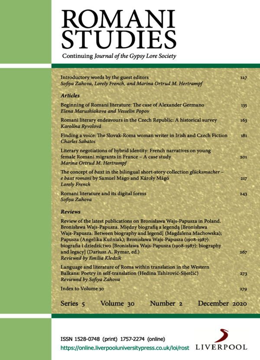 Volume 30 (2020), Issue 2