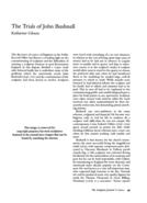 The Trials of John Bushnell
