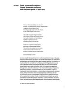 Gods, graves and sculptors: Gudea, Sumerian sculpture and the avant-garde, c. 1930-1935