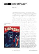 Britain's King Kong: a history of Nicholas Monro's King Kong
