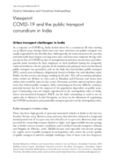 COVID-19 and the public transport conundrum in India