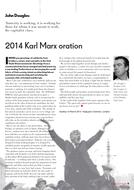 2014 Karl Marx oration