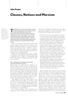 Classes, Nations and Marxism