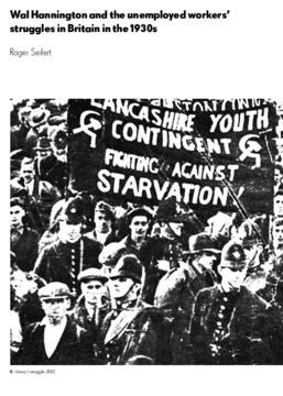 Wal Hannington and the unemployed workers' struggles in Britain in the 1930s