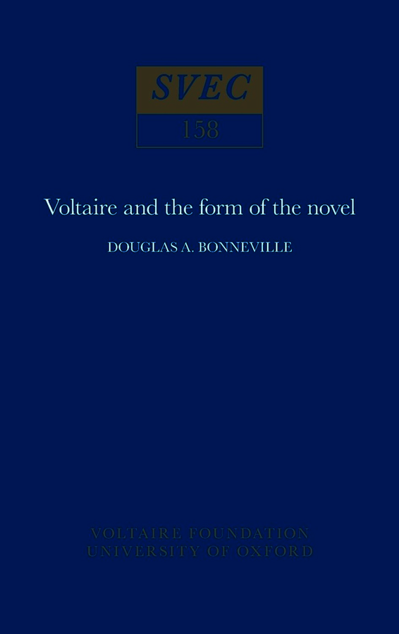 Voltaire and the Form of the Novel
