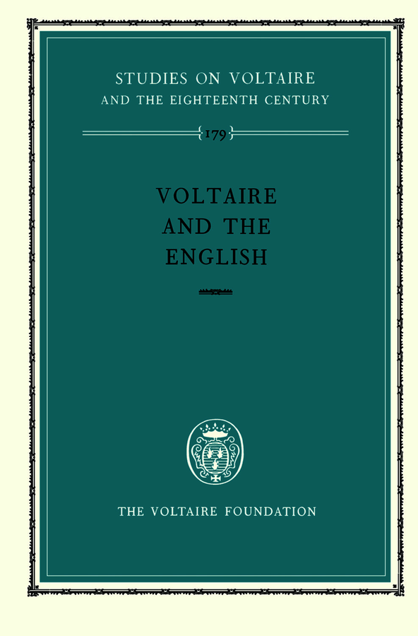 Voltaire and the English