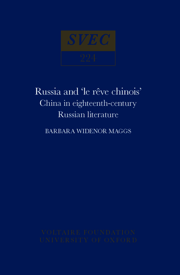 Russia and 'le rêve chinois'