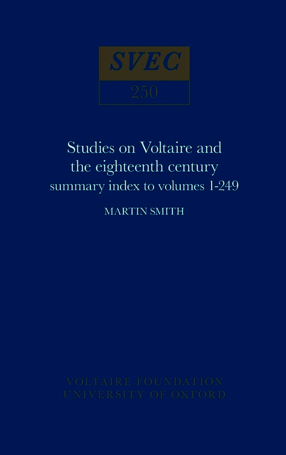 Summary Index to Volumes 1-249