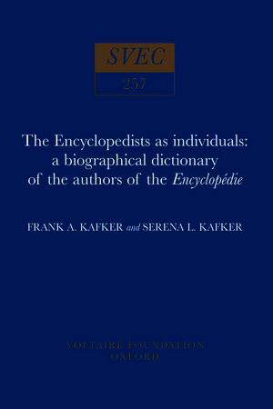 The Encyclopedists as Individuals