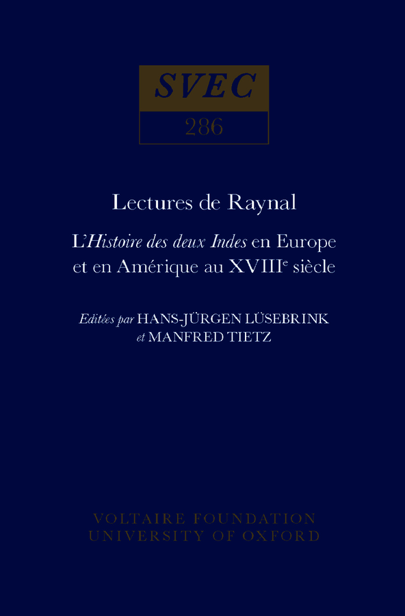 Lectures de Raynal