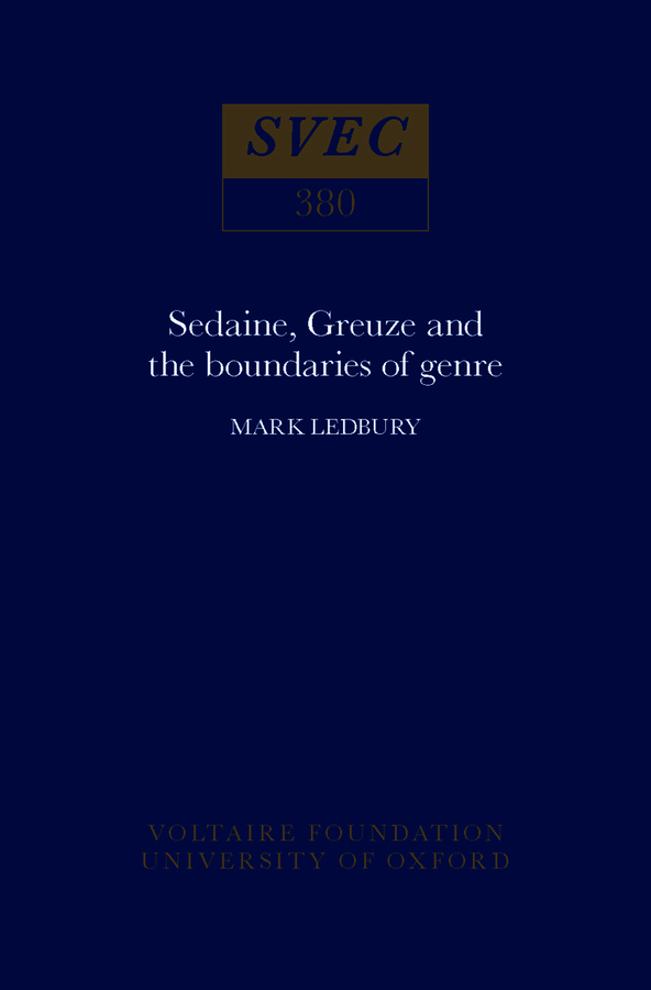 Sedaine, Greuze and the Boundaries of Genre