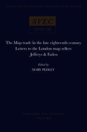 The Map Trade in the Late Eighteenth Century