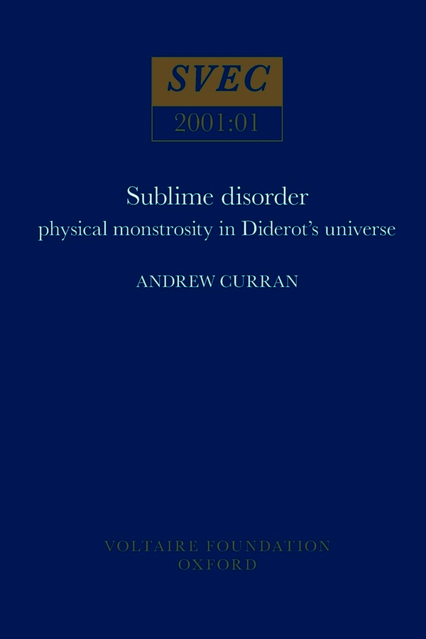 Sublime Disorder