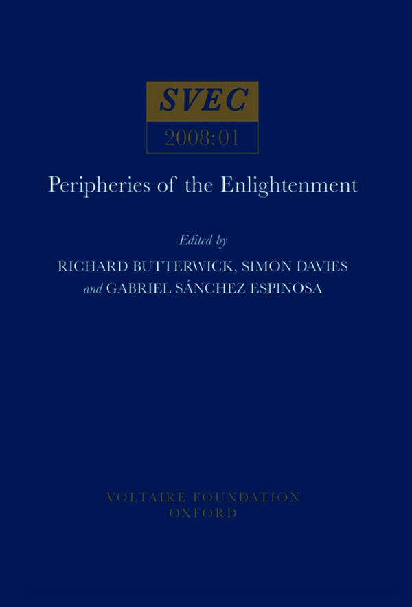 Peripheries of the Enlightenment