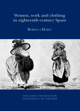 Women, Work and Clothing in eighteenth-century Spain
