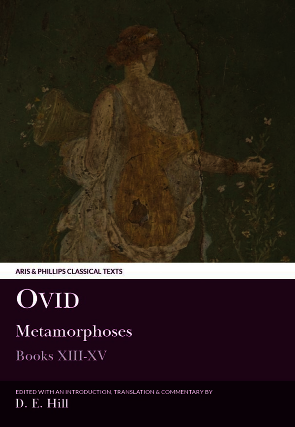 Ovid: Metamorphoses XIII-XV (plus indexes to all volumes)