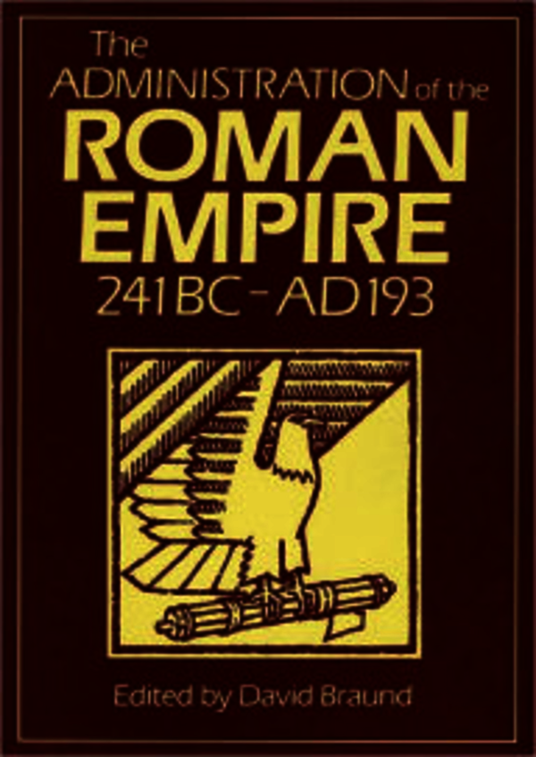 Administration Of The Roman Empire
