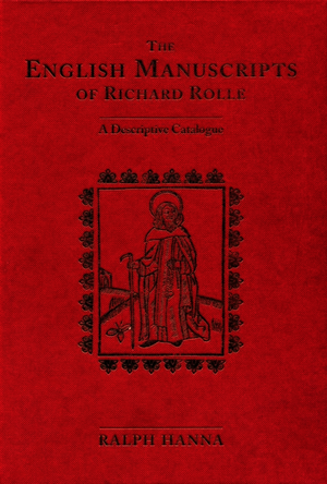 The English Manuscripts of Richard Rolle