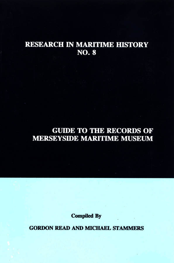 Guide to the Records of Merseyside Maritime Museum, Volume 1