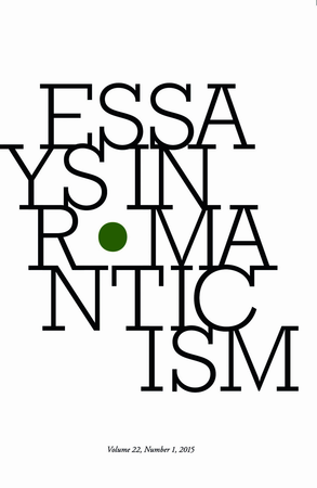 Essays in Romanticism, Volume 21.1 2014