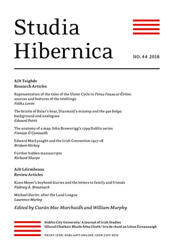 Studia Hibernica Vol. 44