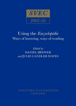 Using the Encyclopédie