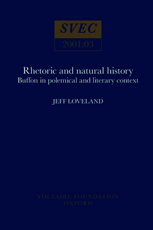 Rhetoric and Natural History