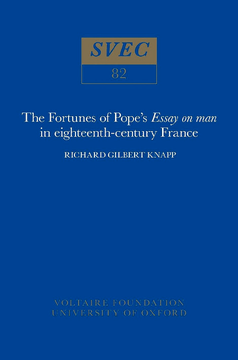 The Fortunes of Pope's 'Essay on man' in 18th-century France