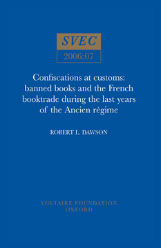 Confiscations at Customs