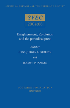 Enlightenment, Revolution and the Periodical Press
