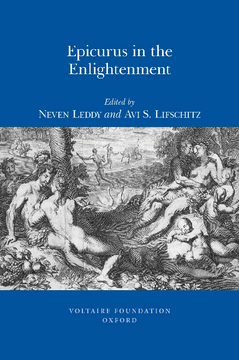 Epicurus in the Enlightenment