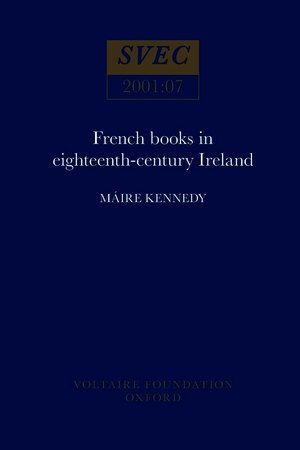 French Books in eighteenth-century Ireland