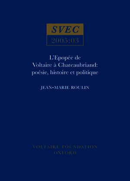 L'Epopée de Voltaire à Chateaubriand