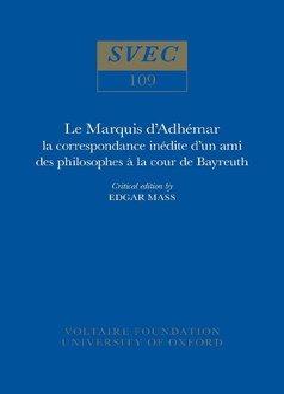 Le Marquis d'Adhémar