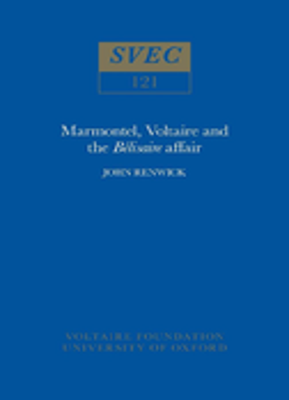 Marmontel, Voltaire and the 'Bélisaire' Affair