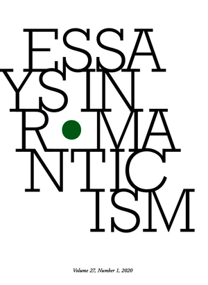 Essays in Romanticism, Volume 27.1 2020