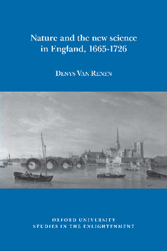 Nature and the new science in England, 1665-1726