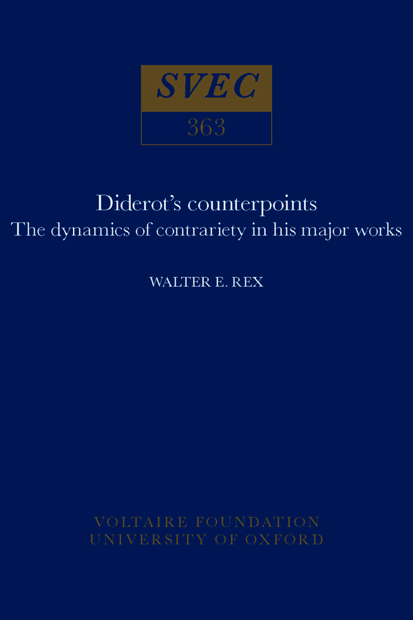Diderot's Counterpoints