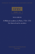 Political Academy in Paris, 1724 - 1731