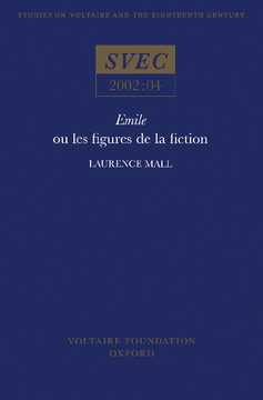 Emile ou les Figures de la Fiction