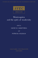 Montesquieu and the Spirit of Modernity