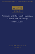 Chamfort and the French Revolution