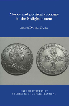 Money and political economy in the Enlightenment