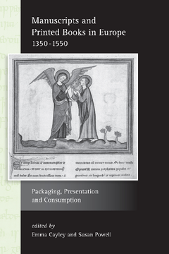 Manuscripts and Printed Books in Europe 1350–1550
