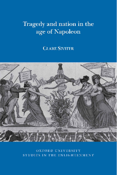 Tragedy and Nation in the Age of Napoleon